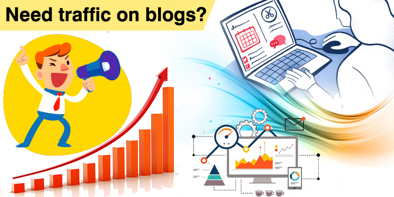 How to Increase traffic on Blog Section?